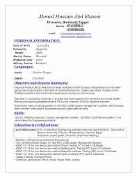Quality Engineer Resume Stunning Mechanical Quality Engineer Resume Sample New Sr Qa Qc Mechanical
