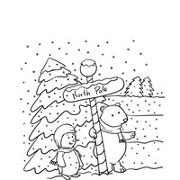 Small Picture 9 Winter Coloring Pages Print Winter Pictures to Color All