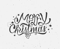 merry christmas card black and white. Contemporary White Vintage Merry Christmas Greeting Card With Handdrawn Typography On White  Grunge Paper Texture Black And Retro Letterpress Poster For  To Card And White E