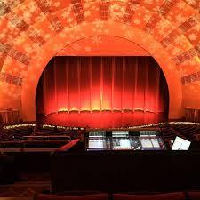 Radio City Music Hall Section 2nd Mezzanine 4 Row E Seat