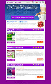 Review Page Design In Html Weight Loss Product Website Review 10 Review Type Landing