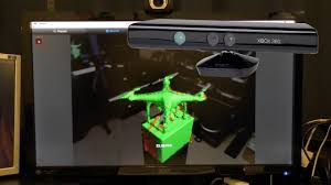 3d scanning from a kinect