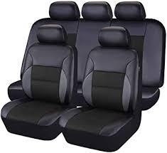 <b>CAR</b> PASS - 11PCS Luxurous PU <b>Leather</b> Automotive <b>Universal</b> ...