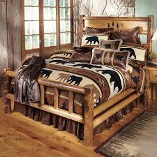 Log Bedroom Furniture Sets Bedroom Decor Light Wood Log Bedroom Furniture With Table Cabinet