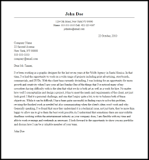 Cover Letter For Graphic Design Job Graphic Design Job Application Letter Sample Graphic