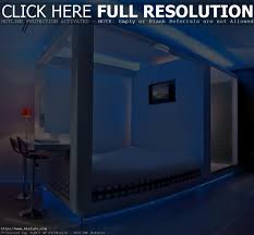 interior led lighting. Bedroom Decorating Ideas With Led Lighting Futuristic Interior
