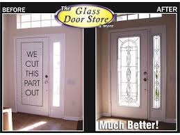 replace exterior door with sidelight. glass sidelight to match front door replace exterior with a