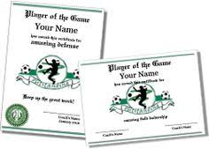 soccer awards templates certificate templates printable certificates award templates