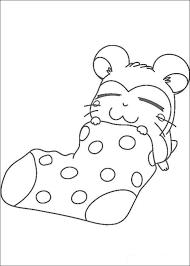 Slapen In Een Sok Kleurplaat Jouwkleurplaten