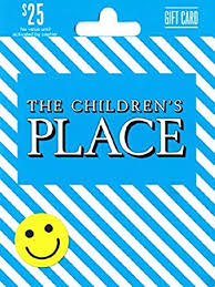 The Children's Place $25 Gift Card: Gift Cards - Amazon.com