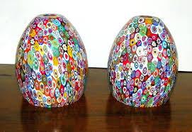murano glass lighting vintage pair glass lamp shades globes murano glass lamp finials