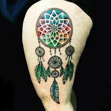 Colorful Dream Catcher Tumblr Colorful Dream Catcher Tattoo That Will be Uniquely Your Own 76