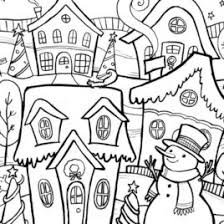 Small Picture Winter Coloring Pages Adults Archives Mente Beta Most Complete