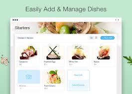 restaurant menu design app wix restaurants updates wix com