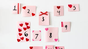 Calendar Countdown Days Try This A Countdown Calendar To Celebrate Valentines Day Martha
