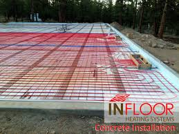 In Slab Radiant Heating Design Hydronic Radiant Heating Concrete Application Radiant