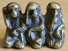 Image result for three brass monkeys