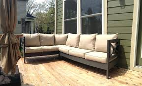 ana white outdoor sectional sofas l shaped patio furniture cushions white sectional seats outdoor sectional sofa