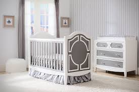 elegant baby furniture. Elegant Nursery Furniture For Baby Fun: With Wooden Crib Also Wall Decorating And