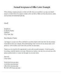 Offer Letter Acceptance Mail Format Job Acceptance Mail Format Email For Offer Letter Templates