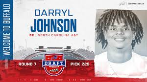 Never satisfied, Darryl Johnson Jr. details his unlikely journey to the NFL