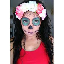 jg day of the dead easy makeup look