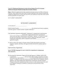 npr alternative dispute resolution for discrimination  sample settlement agreement