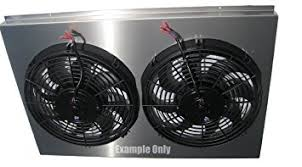 cheap radiator 3 core radiator 3 core deals on line at aluminum shroud 2 14 fans for radiator part 161 fits ae161