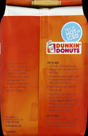 Dunkin Donuts Allergen Chart Dunkin Donuts Bakery Series Caramel Coffee Cake Flavored Ground Coffee 11 Ounces