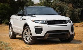 2017 Land Rover Range Rover Evoque Convertible Test   Review   Car ...