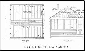 fire tower houses plans best of fire watch tower house plans sea