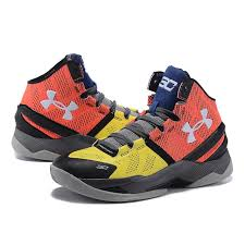 under armour shoes stephen curry 2. ua curry 2 under armour stephen black yellow orange shoes