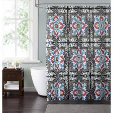 cool fabric shower curtains. Uncategorized Solid Red Fabric Shower Curtain The Best Color Accessories Home Depot Pict For Inspiration And Style Cool Curtains