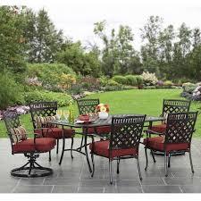 gardens 7 piece outdoor dining sets