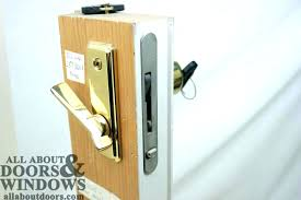 sliding glass door lock replacement patio handle with hardware locks replace cost to repair do