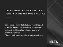 ielts writing actual test in and band sample essay
