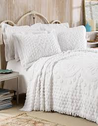 white chenille bedspread. Unique White Kingston Chenille Bedspread U2039 Inside White Bedspread