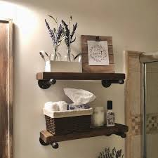 40 floating shelf ideas built with