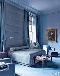 contemporary design bedrooms. Brilliant Contemporary Blue Bedroom In Manhattan And Contemporary Design Bedrooms B