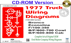 com ford truck wiring diagrams cd rom 1977 ford truck wiring diagrams 100 800 cd rom
