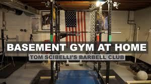 basement gym ideas. Awesome Rogue Fitness Basement Gym At Home | Tom Scibelli \u0026 Jonathan  Walseman Collab - YouTube Basement Gym Ideas