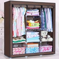 Тканевые коричневые <b>шкафы Storage</b> Wardrobe в Брянске (2000 ...