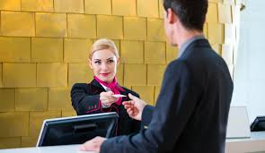 hotel rooms may be available but the front desk clerk keeps it secret