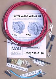 catalog for less cost than a tank of 92 octane our part alt 1 alternator wiring kit will make it simple to wire a model 10si or 12si alternator into the original