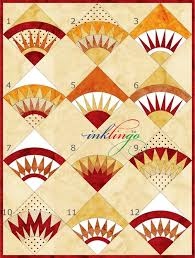 448 best New York Beauty/ QUILTS images on Pinterest   Quilt block ... & New York Beauty for corner and side blocks on Lone Star quilt Adamdwight.com