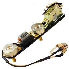 obsidianwire custom 4 way for tele® er less wiring upgrade t style vintage 3 way harness 250k cts 0 047uf nos cap