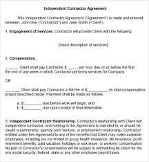 Cleaning Contract Templates Cleaning Subcontractor Agreement Template 7 Sample Cleaning Contract