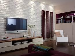 30 Brick Walls Designs Wall Decor Ideas  Design Trends White Brick Wall Living Room