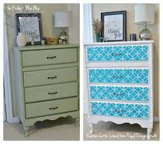 stenciling furniture ideas. great furniture stencil makeover with the eastern lattice moroccan on dresser drawers from burlap stenciling ideas o