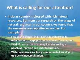conservation of natural resources ppt conservation of natural resources